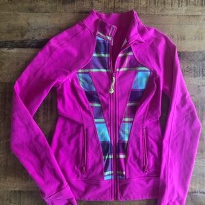 Ivivva by lululemon, Pink Zip Jacket, size 12